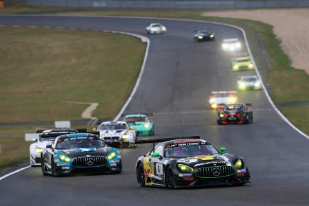 HARIBO Racing Team - AMG nach starkem Qualifying vorzeitig ausgeschieden