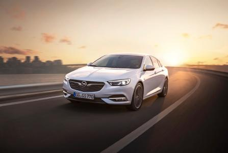 New flagship: The Opel Insignia Grand Sport will celebrate its world premiere at the Geneva Motor Show in March 2017