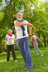 Herzkreislauf-Training führt mit Schwung zu guter Laune und Gesundheit / Foto: Fotolia