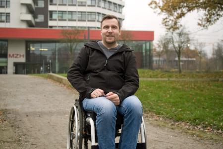 Benjamin Tannert, Foto: Harald Rehling / Universität Bremen