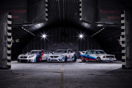 Fotoshooting, BMW M6 GT3, BMW M4 GT4, BMW 320