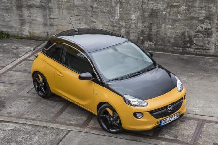 Opel ADAM BLACK JACK: Beste Karten: Mit der BLACK JACK-Edition holt der Opel ADAM ein weiteres Ass aus dem Ärmel