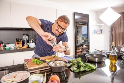 Leicht, fettarm und im Handumdrehen zubereitet: Studers Wellness-Menü ist das perfekte