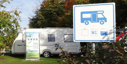 CamperClean mit Superstart am Brombachsee
