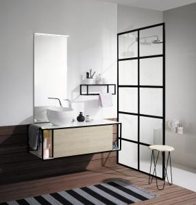 burgbad badm bel junit gerahmter raum f r freies spiel. Black Bedroom Furniture Sets. Home Design Ideas