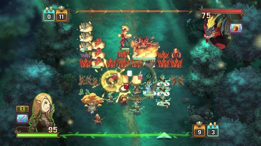 Might & Magic Clash of Heroes - Battle Sylvan