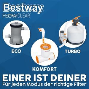 Mit 3 unterschiedlichen Modi bietet Bestway® für jeden die ideale Filterpumpe.