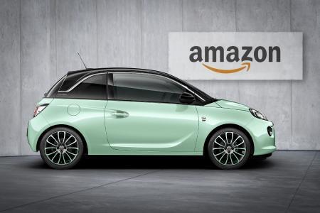 """Autoleasing per Touch und Klick: Opel bietet mit dem ADAM-Sondermodell """"Germany's next Topmodel"""" als erster Hersteller in Deutschland die Fahrzeugreservierung via Amazon.de an"""