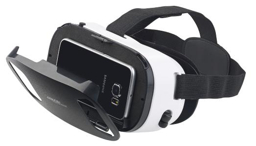 auvisio Virtual-Reality-Brille, In-Ear-Headset, Touch-Bedienung, Bluetooth 4.2