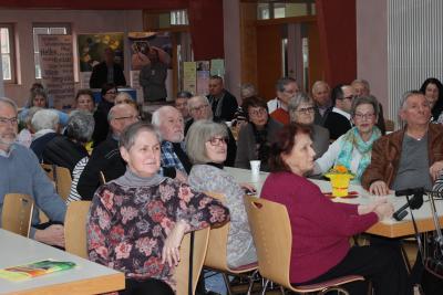 """Blick ins Romröder Bürgerhaus: Gut besucht war die Auftaktveranstaltung der """"Samstage für gesundes Altern"""""""