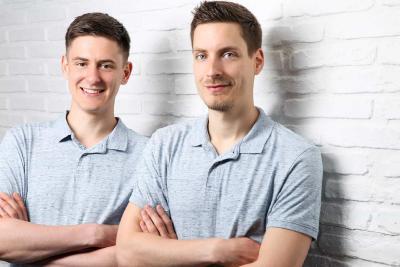 Gründer Jan Wittmann & Christoph Skorupa (v.l.)