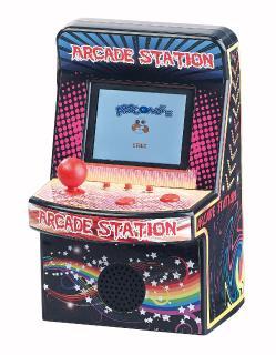 NC 7459 02 MGT Mobile Games Technology Handlicher Retro Videogame Automat mit 200 Spielen