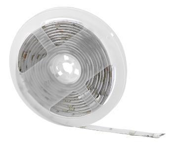 Luminea Home Control USB-RGB-LED-Streifen WRL-30 mit WLAN, App, Sound- & Sprachsteuerung, 3 m