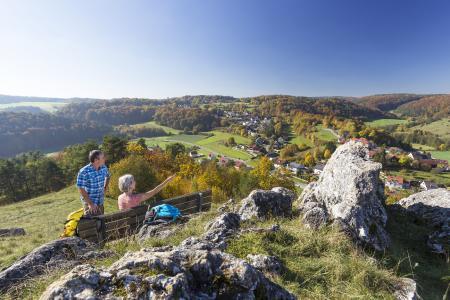 Burgensteig, Tal der Schwarzen Laber, westlich von Regensburg (Foto: Stefan Gruber)