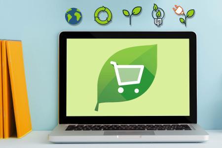 Warenkorb wird grün: Kunden bestellen nachhaltige Produkte