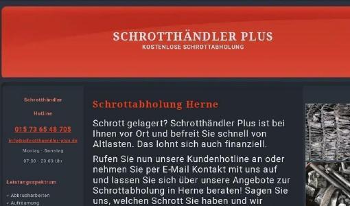 Schrotthändler Herne