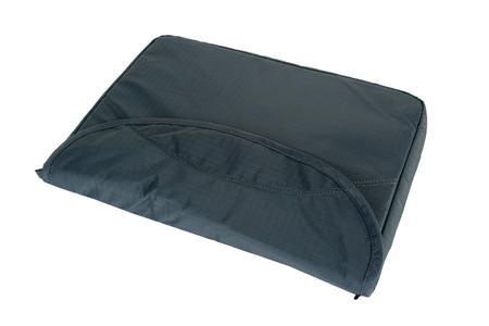 Padded laptop compartment and removable laptop sleeve
