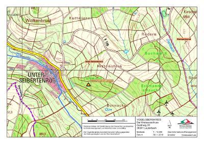 Karte Wildholl-Loch