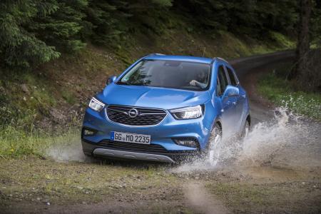 Vielseitig: Mit adaptivem Allradantrieb wird der neue Opel Mokka X zum perfekten Auto für jeden Untergrund
