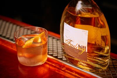 Old Fashioned mit dem Fading Hill Single Rye Whisky der Birkenhof-Brennerei