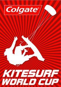 Offizielles Logo Colgate Kitesurf World Cup