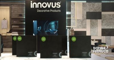 New surfaces and Innovus Coloured MDF Deep Black strikes a chord on the retail scene