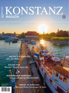 Neu erschienen & erweitert: Das neue Konstanz Magazin ist da!