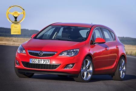 Der neue Opel Astra ist der Gewinner des Goldenen Lenkrads