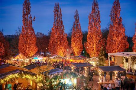 Einzigartige Atmosphäre beim Adventsmarkt in Bad Gögging ( © Foto Mayer)