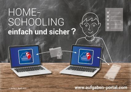 Homeschooling einfach und sicher mit dem Maiß Aufgaben-Portal