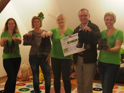 Nach der erfolgreichen Premiere 2016 mit einem Spendenbetrag von 1.100,00 € für den Kinderschutzbund Bad Harzburg findet erneut eine Benefizwanderung statt.