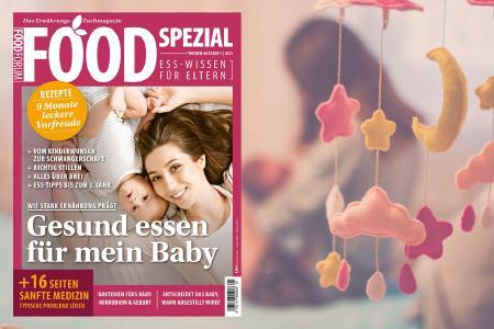 """Spezialmagazin """"Gesund essen für mein Baby"""""""