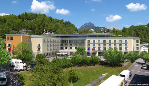Simulation Hotel Edelweiss Berchtesgaden