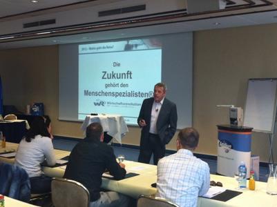 Salux-Teampartner-Fachtagung mit Karl Pilsl