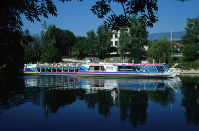 Jazz Riverboat auf der Aare