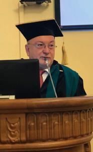 TH-Präsident Prof. Dr. László Ungvári während seines Festvortrags