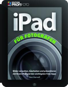 """Das Cover des Buches """"iPad für Fotografen""""."""