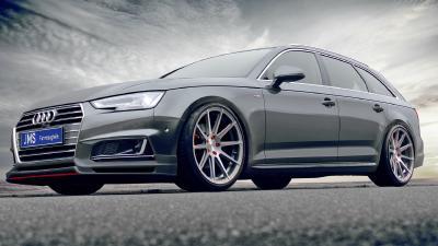 Racelook-Bodykit für den Audi A4 B9 mit S line-Paket