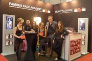 Messestand der Famous Face Academy auf der TOP HAIR International Düsseldorf