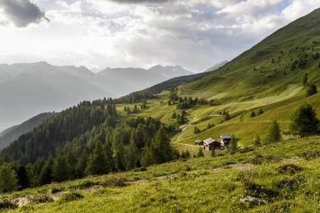 Almenlandschaft im Gsieser Tal