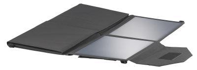 NX 2743 03 revolt Mobiles faltbares Solarpanel. 8 monokristalline Solarzellen 100 Watt / Copyright: PEARL.GmbH / www.pearl.de