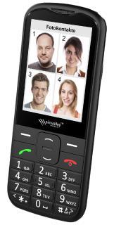 simvalley MOBILE Komfort-Handy XL-950 mit Garantruf Premium, Bluetooth & 7,1-cm-Farb-Display