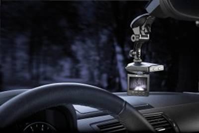 NavGear Auto-DVR-Kamera MDV-2250.IR mit TFT & Bewegungserkennung