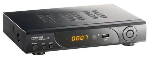 auvisio Digitaler HD-Sat-Receiver mit Full HD-Player und HDD-Schacht