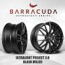 Barracuda Racing Wheels Europe:  New rim model - Ultralight Project 3.0 on the VW Golf GTI