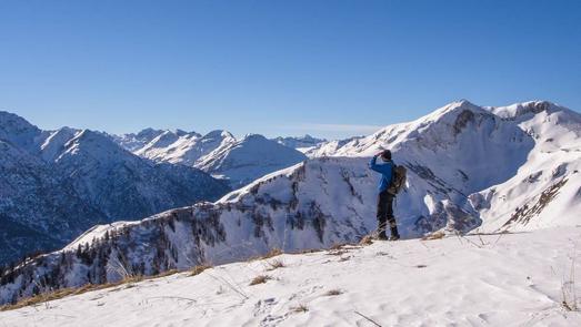 Österreich, Blick auf die Valluga