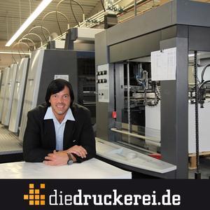 Onlinedruckerei senkt Plakatpreise. (Im Bild: Walter Meyer, Geschäftsführer der Onlineprinters GmbH)