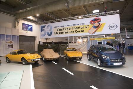 Lange Tradition: Von Experimental GT bis Corsa – bei Opel entstehen aufregende Formen seit über 50 Jahren im Design-Studio in Rüsselsheim © GM Company