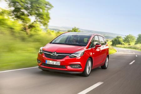 Trendsetter: Seven seats in the compact class – who invented it? Opel with the Zafira which was renewed in 2016