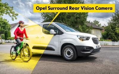 Opel Combo Surround Rear Vision Camera